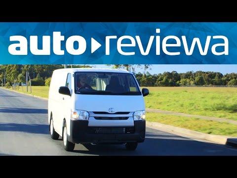 2014 Toyota Hiace Review - Australia