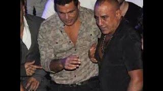عمرو دياب تحت حماية محمد لطفي في حفل بورتو كايرو