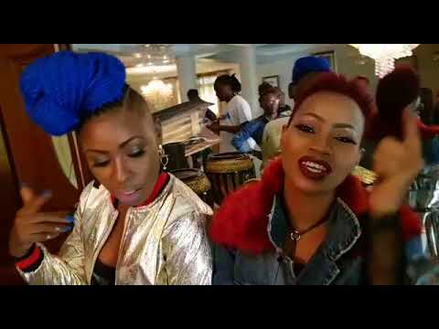Photoshooting Natacha and Sheebah
