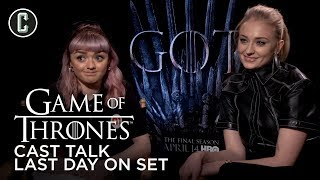 Game of Thrones Cast Talk Last Day On Set