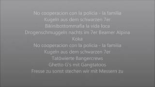 SpongeBOZZ  No Cooperation Con La Policia (Official Lyrics)
