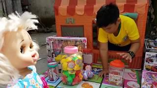 Trò Chơi Nhà Lều Bé Doli ❤ ChiChi ToysReview TV ❤ Đồ Chơi Trẻ Em Baby Fun