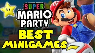 Top 10 BEST Super Mario Party MINIGAMES!