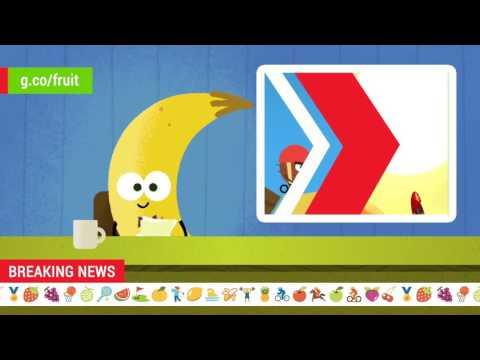 2016 Doodle Fruit Games: Coconut BMX Newscast