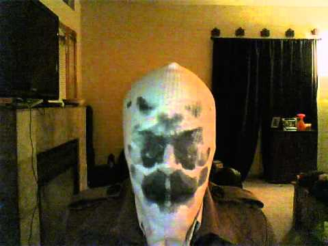 REAL WORKING RORSCHACH MASK!!!