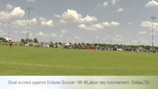 Goal vs. Eclipse Soccer U19 Labor Day tournament Dallas,TX