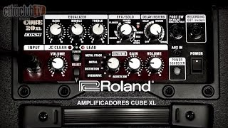 Roand   Review Amplificadores Cube XL
