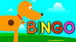 Bingo Dog Song | Bingo Nursery Rhyme | Animation Rhymes & Childrens Song