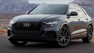 2019 Audi Q8 US Spec Interior and Exterior