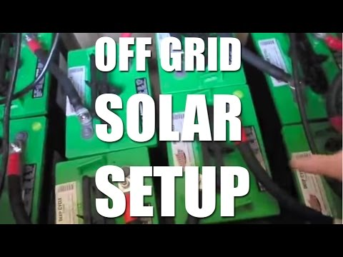 Off Grid Solar Setup and How to Size It by Dustin Real