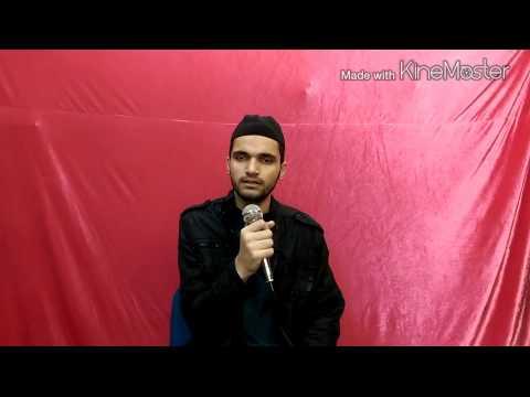 Dar-e-nabi Par Ye Umar Beethay Naat By Hafiz Abu Bakar 2015 video