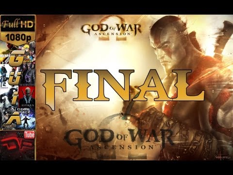God of War: Ascension - Español Ultima Parte PS3 |Modo Historia Final Ending|+ Guia Coleccionables Walkthrough 1080p