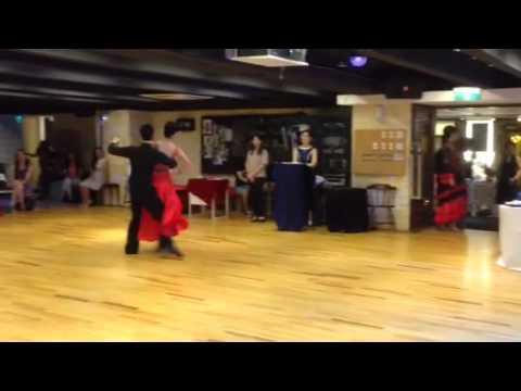 Tango   Cha Cha Cha (olga And Teacher Karl)  2014 Medal Ba video