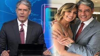 William Bonner Exibe Aliança de Casamento no Jornal Nacional AO VIVO e Fãs Reagem