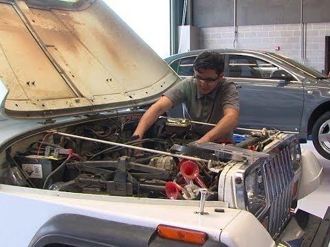 New auto shop at Grossmont High School now open