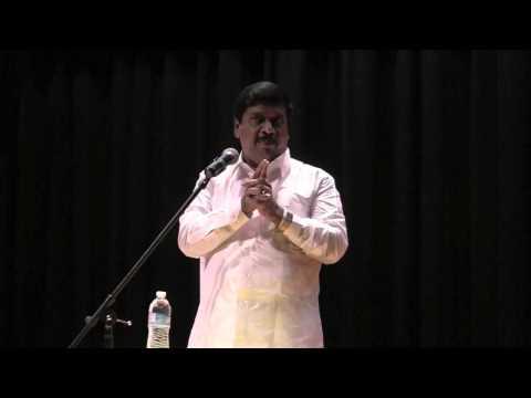 Dr K Gnanasambandam Speech in New Jersey Tamil Sangam 2012