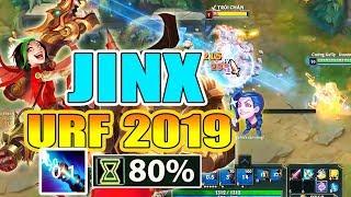 ĐỪNG ĐÙA VỚI JINX TẠI CHẾ ĐỘ URF 2019 !