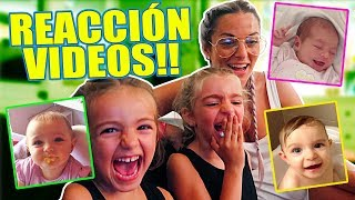 REACCIÓN VIDEOS DE BEBÉ 👶 Itarte Vlogs