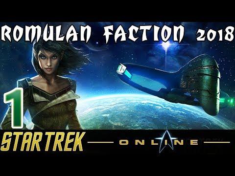 Let's Play Star Trek Online - Romulan Faction 2018 - [1] - Tutorial