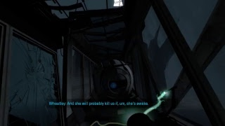 I HAVE NO IDEA WHAT I'M DOING-- ANON PLAYS Portal 2 (CAUSE CRY OF FEAR CRASHED)