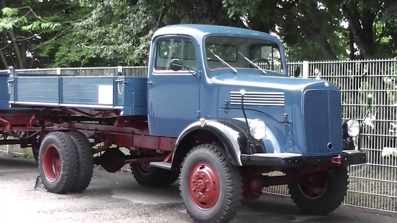 old german mercedes benz truck youtube