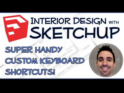 Interior Design with SketchUp - Best Keyboard Shortcuts