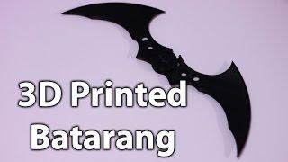 download lagu 3d Printed Batman Batarang gratis