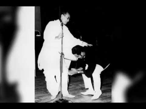 Kishore Kumar in his own voice remembering S D Burman - Rare Audio clip with Rare pics