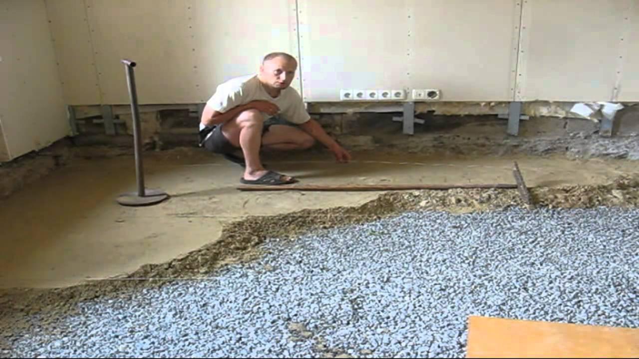 Как сделать пол из песка 465