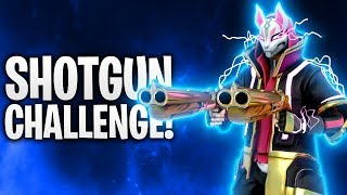 DIE SHOTGUN CHALLENGE! ⚡ | Fortnite: Battle Royale