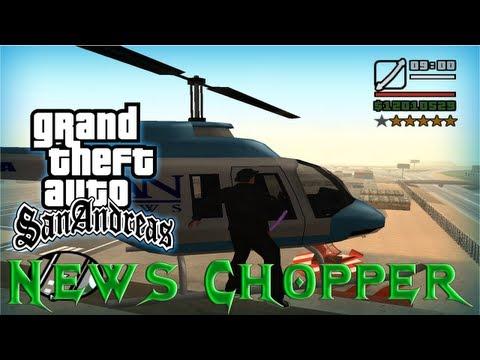 GTA San Andreas - Como conseguir el Helicoptero News Chopper (Helicóptero de No