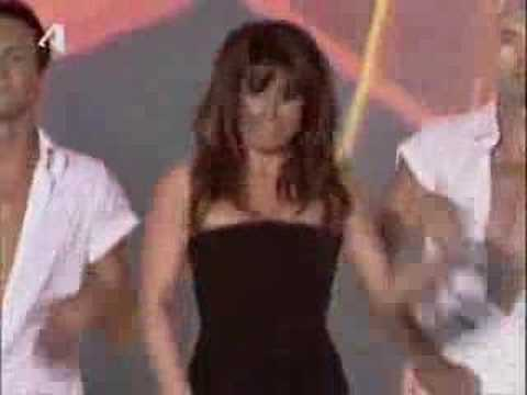GREECE-  sexy Elena Paparizou Mad Music Awards 2008