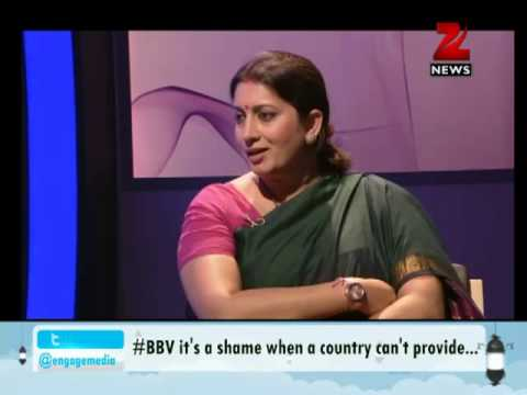 Zee News: Bharat Bhagya Vidhata: Smriti Irani discusses issue of women
