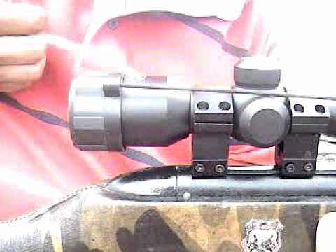Tutorial de como instalar una mira telescopica a tu rifle !!!!
