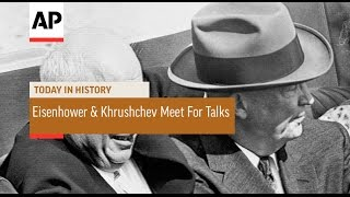 Eisenhower and Khrushchev Meet For Talks - 1959 | Today in History | 25 Sept 16
