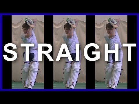 Hd Cricket Batting Straight Driving Technique Tips video