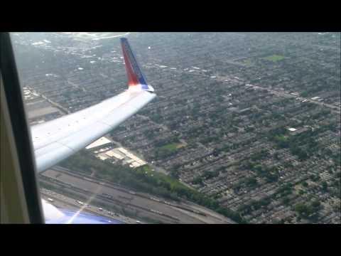 FULL FLIGHT: Southwest Airlines Boeing 737-7H4 (B737) - MDW-SFO