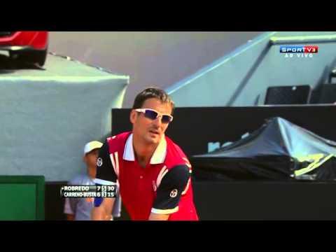 Tommy Robredo 2 VS 0 Pablo Carreno Busta Rio Open De Tênis 2014