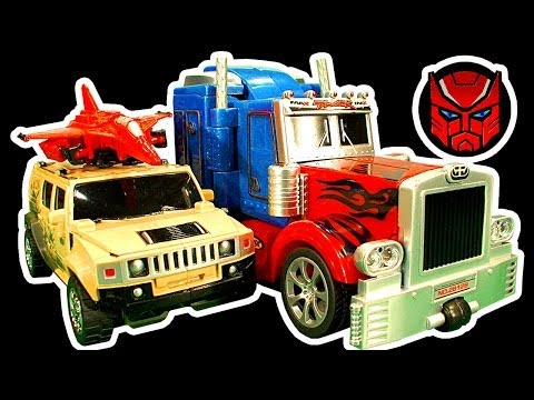 Transformers Dark Side Knock Off Toys Ep 1 Age Of Extinction Blending & Wrecking Toy Revenge