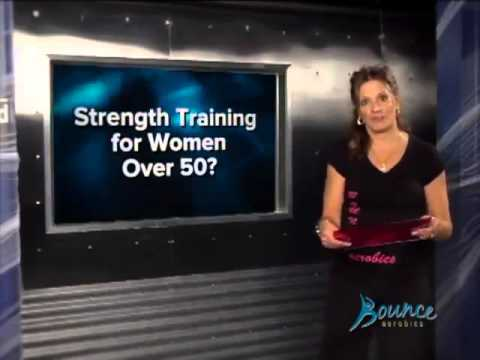 Bounce Aerobics Fitness Tip - Strength Training Over 50