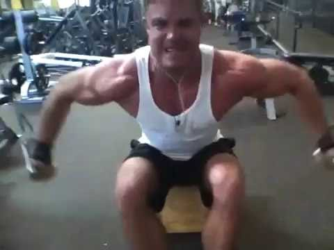 David Kimmerle Training At Golds Gym -The Mecca