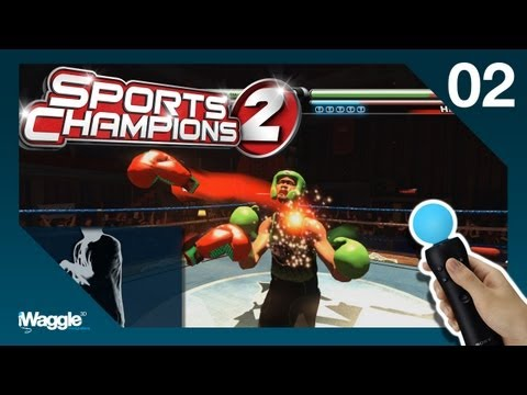Sports Champions 2 PS Move Walkthrough - Part 2/6 [Boxing - Gold Difficulty]