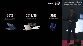 ASUS ZenBook 13/14/15 Malaysia Product Launch Keynote
