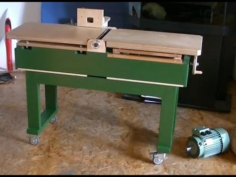 Milling Wood Without A Jointer (using a router table) - Abrichten mit dem Frästisch