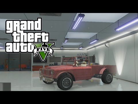 GTA 5 Online: How To Get Trevor's Truck (Canis Bodhi) & Michael's RARE Car (Obey Tailgater)