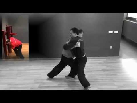 Sifu Alfredo: grappling workouts with wooden dummy Image 1