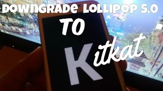 Samsung Galaxy S5 Downgrade Lollipop to Kitkat Easy Tutorial