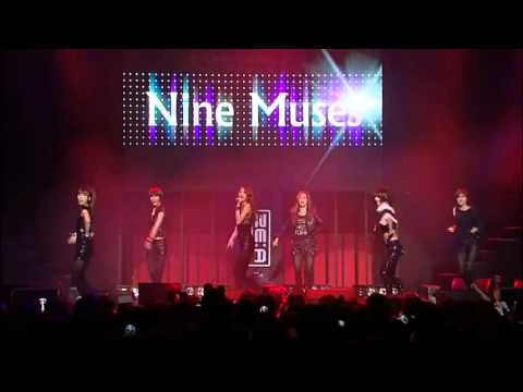 [110220] Nine Muses- No Playboy [happy Ze:a's Day] video