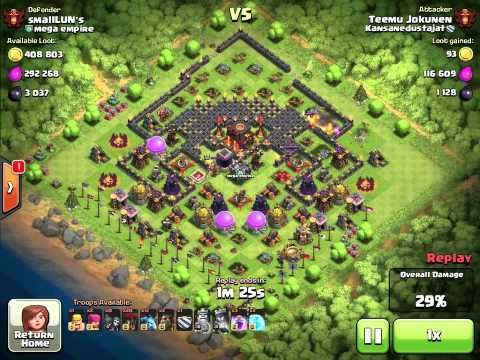 Clash of Clans - Whaling Mega Empire and Breaking 4400 for the 1st time