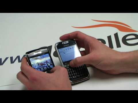 Nokia E72 vs. Blackberry Bold 9700 - Review by Gazelle.com